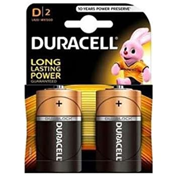DURACELL D2 BATTERIES