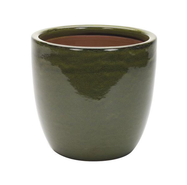 Cambridge Egg Pot 41cm - GREEN