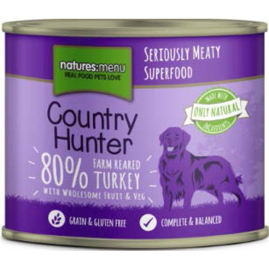 Country Hunter Meals Dog Can Farm Reared Turkey 600g
