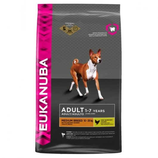 Eukanuba Dog Adult Medium Breed Chicken 12kg
