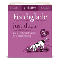 Forthglade Just Dog Gf Duck 395g