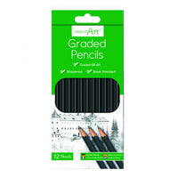 GRADED PENCILS - PACK OF 12