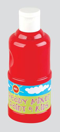 READY MIXED PAINT FOR KIDS - RED