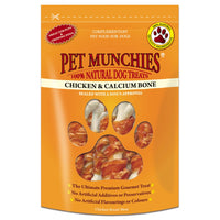 Pet Munchies Chicken & Calcium Bones 100g