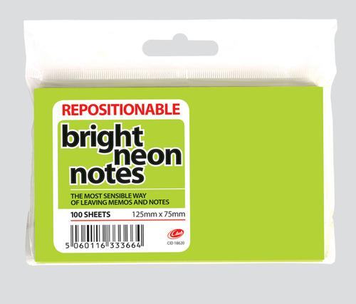 POST IT NOTES 125MMX75MM