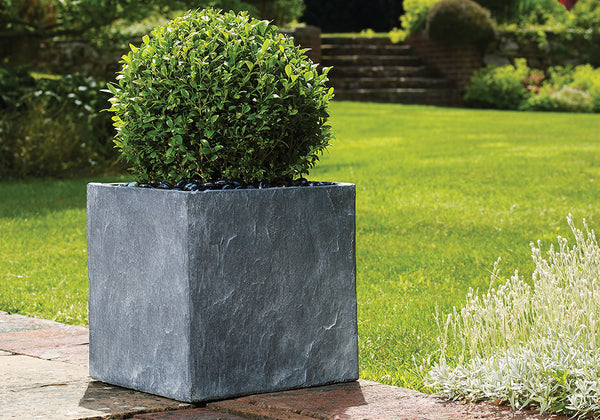 Slate Light Grey Cube - 4 Sizes