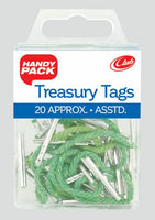 Treasury Tags - approx20