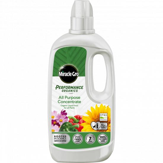 Miracle-Gro Performance Organics 1L All Purpose Concentrate