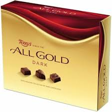Large Box of Terry's All Gold Dark Chocolates 380g