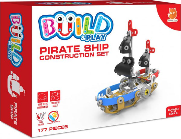 Build & Play Pirate Ship Construction Set
