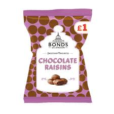 Bonds Of London Chocolate Raisins 130g