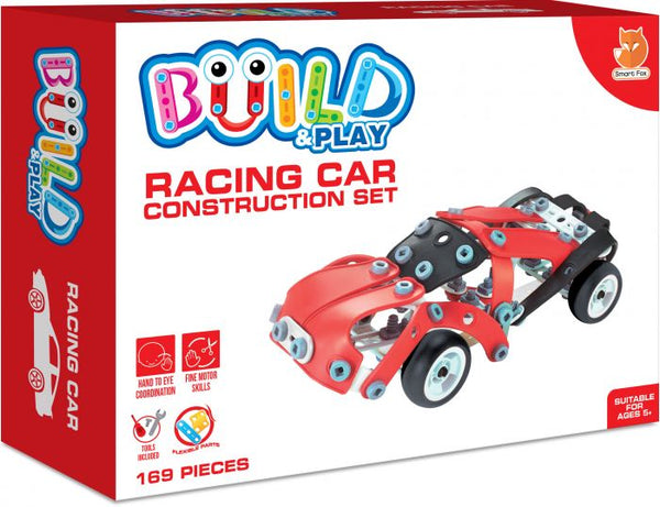Build & Play Racing Car Construction Set
