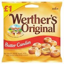 Werthers Original Butter Candies 110g