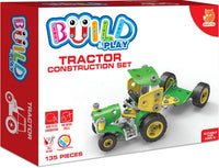 Build & Play Tractor Construction Set