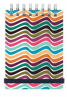 Abstract Notebook Banded