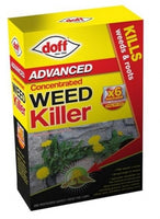 Doff Advanced Concentrated Weed Killer  6x80ml Sachets