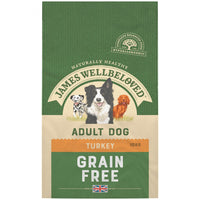 Jwb Adult Dog Maintenance Grain Free Turkey Kibble 1.5kg