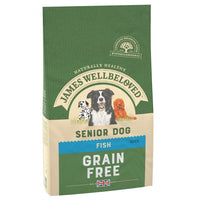 Jwb Adult Dog Senior Grain Free Fish Kibble 1.5kg
