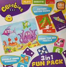 Cbeebies 3 in 1 Funpack Age 18m+
