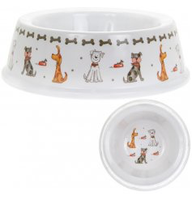 Decorative Dog Bowl