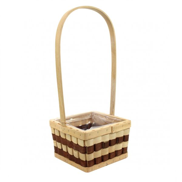 Chequered Square Basket