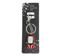 BLING MINI CAR KEYRING WITH KEYCHAIN & CLIP