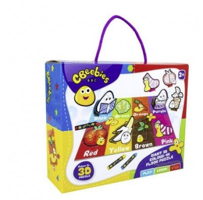 CBEEBIES GIANT 3D COLOURS FLOOR PUZZLE