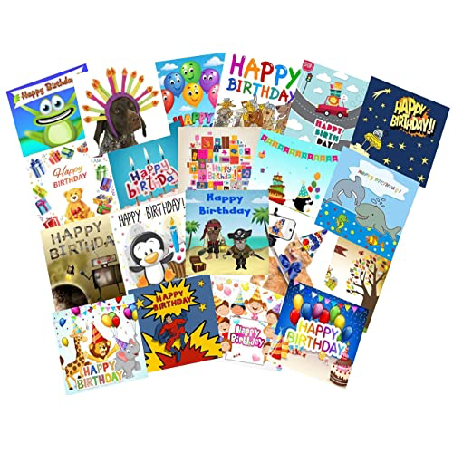 Age 1 Boy Birthday Card