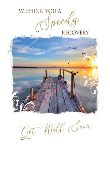 Get Well Greeting Card - Speedy Recovery