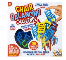 48PC BALANCING CHAIR GAME IN WINDOW BOX