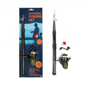 Extending Fishing Rod with Reel and Tackle 8+