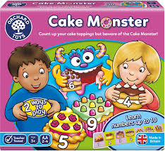 Orchard Toys Game - Cake Monster Age 3+