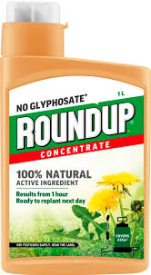 Roundup Natural Weedkiller x 1 Litre  Concentrate
