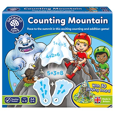 Orchard Toys Game - Counting Mountain Age 4-8