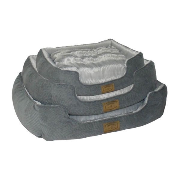 Large Grey Pet Bed