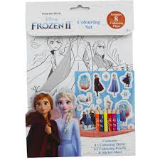 FROZEN II Colouring set 3+