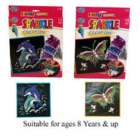 Make Your Own Sparkle Creation - Dolphin or Butterfly Age 8+
