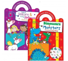 Colouring & Sticker Bag Book