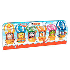 Kinder Surprise Seasonal Mini Figures T6