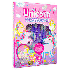Unicorn Scrap Book Kit  Age 7+