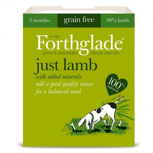 Forthglade Just Dog Gf Lamb 395g
