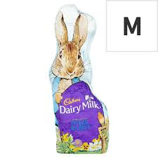 Cadbury Dairy Milk Peter Rabbit Hollow Bunny 100g