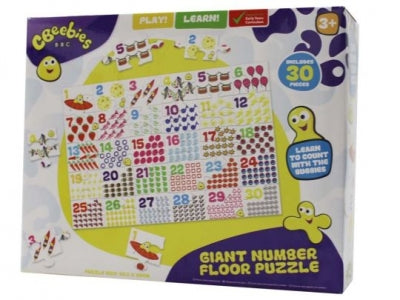CBEEBIES GIANT NUMBERS FLOOR PUZZLE