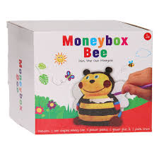 Paint your own Bee Money Box Age 3+