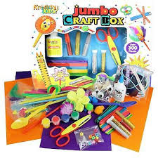 Jumbo Craft Box - SPECIAL OFFER AS BOX DAMAGED