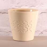Crawford Pot 12 x 11.5 Cream