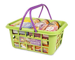 Casdon Toy Food Plastic Shopping Basket