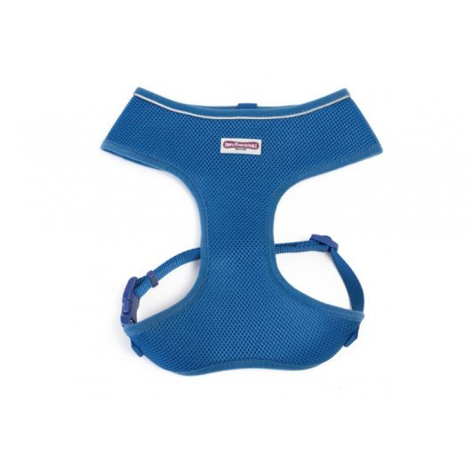Comfort Mesh Dog Harness Blue Small 34-45cm