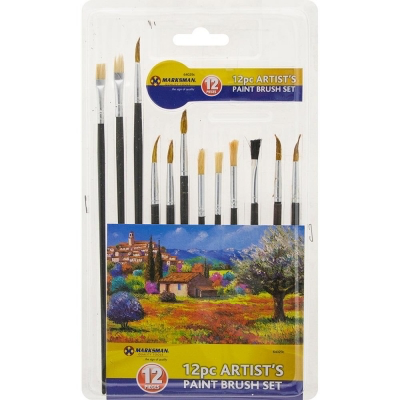 12pc Paint Artist Brush Set