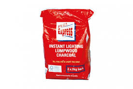 BBQ Instant Light Charcoal 2 x 1 kg bags